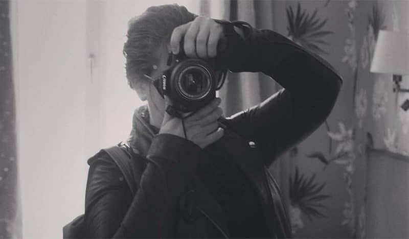 פריז לבד עם מצלמה