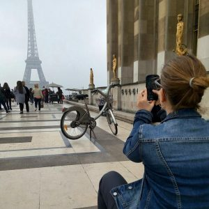 פריז על אופניים