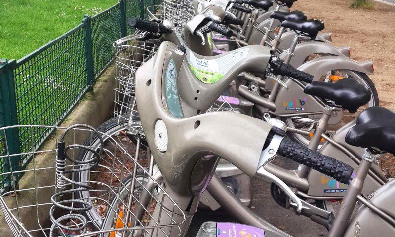 אופני velib בפריז