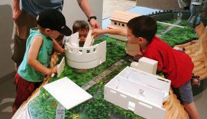 מודל סוסיתא במוזיאון הכט